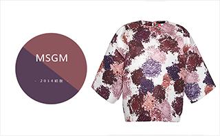 Msgm - 2014初秋