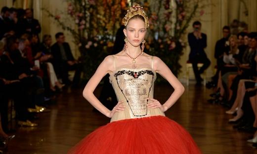 2015春夏高级定制[Dolce & Gabbana]米兰时装发布会