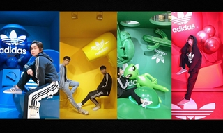 Adicolor 彩色基地期间限定打卡点&Adidas Originals 东西双门市经典开幕