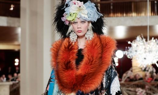 2018春夏高級定制[Dolce & Gabbana]紐約時裝發布會