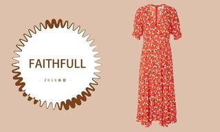 """Faithfull - 捕捉复古的""""炫酷""""(2019春夏 预售款)"""