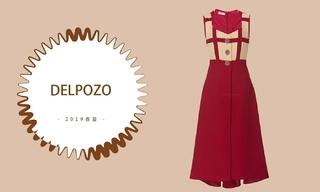 Delpozo - 透明之笔勾画出的紫藤花境(2019春夏预售款)