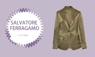 Salvatore Ferragamo - 尘土飞扬的中性色调( 2019春夏预售款)
