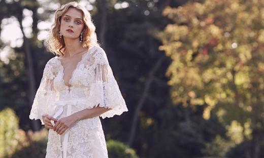 2019秋冬婚紗[Marchesa]紐約時裝發布會