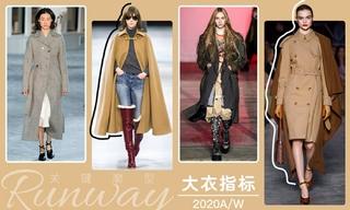 2020秋冬廓型:大衣指标