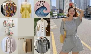 【韓國東大門】約會|圖案|打攬與抽褶|面料觸感|動物
