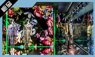 【櫥窗陳列】Breuninger、Jimmy Choo、Kenzo富有表現性的櫥窗