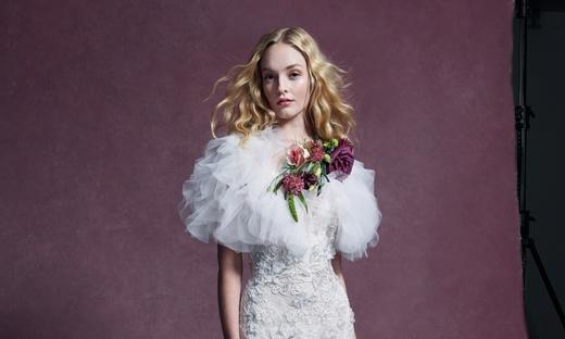 2020秋冬婚紗[Marchesa]紐約時裝發布會