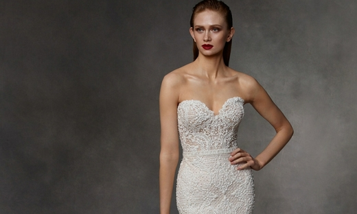 2020秋冬婚紗[Badgley Mischka]紐約時裝發布會