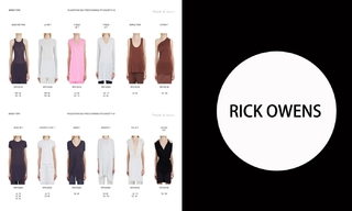 Rick Owens-2021春夏訂貨會