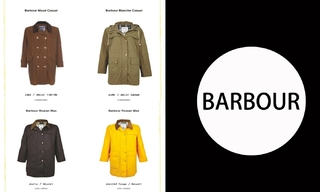 Barbour- 2021春夏訂貨會