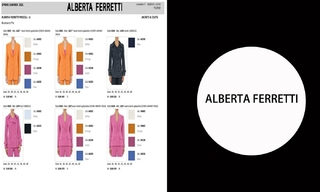 Alberta Ferretti- 2021春夏訂貨會