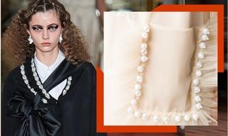 复古珍珠装饰