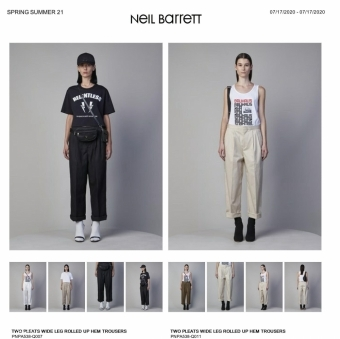 Neil Barrett 2021春夏