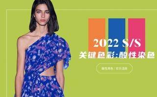 2022春夏色彩:酸性染色